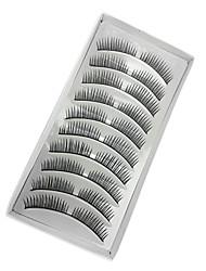 10 Wimpern Augenwimpern Augenwimpern Voluminisierung Faser