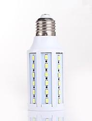 12W E26/E27 LED Corn Lights T 60 SMD 5730 1100LM lm Natural White Decorative AC 220-240 / AC 110-130 V