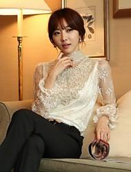 estilos coreanos chaoliu atan Loong mangas camisa de la base
