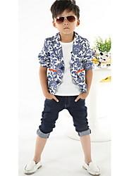 Boy's Cotton Blend Suit & Blazer,Spring Floral