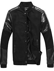 Men's British Fan Fashion Leisure Coat  Autumn-Winter Jacket