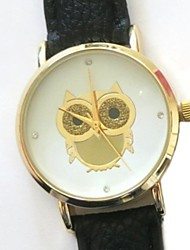 Women Watch Partysu Owl Foil Watch Quatz Watch Assorted Colors D0303