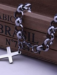 Armbänder Tennis Armbänder Edelstahl Kreuzform Normal Schmuck Geschenk Silber