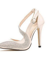 De Moka vrouwen modieuze diamonade sexy stiletto hak elegante pumps