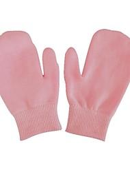 invierno suavizantes primavera piel de la mano guantes de bolsa de color rosa (1 par)
