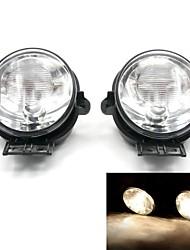 Tirol Fog Driving Light kit OEM Replacementfor Dodge RAM Series Pickup Truck Front Bumper Lamps Pair