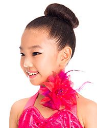 Performance/Dancewear Spandex Flower Dance Accessories