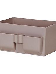 caixa de artigos diversos escritórios armazenamento de desktop maquiagem caixa de armazenamento