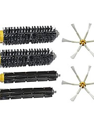 Brush Kit for iRobot Roomba 700 Series 760 770 780 790 6-Armed Side Brushes, Flexible Beater Brush, Bristle Brush