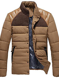 Men's Stand Collar Fashion Keep Warm Upset Coat