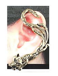 gothic volpe epoca orecchini singolo Lala donne