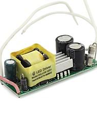 9-12x1w внутреннего привело трансформатор мощностью драйвера AC85 ~ 265В для E27 GU10 выходного прожектор dc25-40v