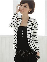 xiaonvren Stripes Suit_X11(White)