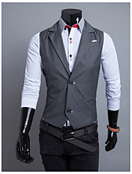 Coton Men's Winter Style Fashion Comfortable Suit Vest