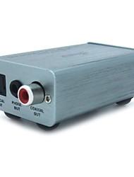 computador USB de alta qualidade da fibra de saída de decodificação digital de headset coaxial amplificador dac asio cartão asio som