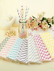 Big Polka Dots Paper Straws(Set of 25)