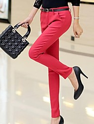 Women's Candy Color Slim Pants