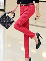 Women's Candy Color Slim Pants