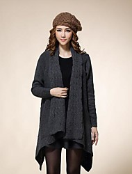 Women's Plus Size Shawl Long Pattern Sweater
