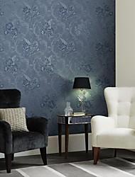 mur papier mural, papier peint non tissé floral contemporain