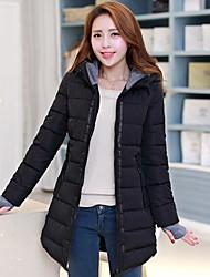 Women's Hooded Long Down Coat