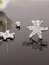 Lucky Doll Women's Starfish Earrings