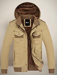 leitin hoodie dos homens tudo combinando casaco cor sólida