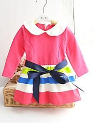 multi-couleur de la robe de la ceinture bande de raccordement de fille
