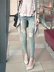 vrouwen gat slanke sexy mode jean broek