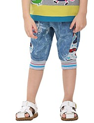 Boy's Cotton Shorts / Jeans,Summer Print
