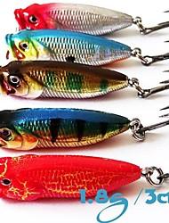 1.8cm 3g señuelos de pesca topwater Mini popper (5 piezas)