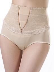 la moda del color puro de altura de la cintura bragas conformación postparto de las mujeres