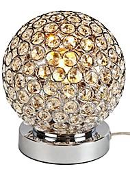 большие сферические кристалл Настольная лампа кристалл K9 настольные лампы прикроватные Гостиная Офис мини настольные лампы