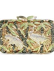 Women's Fashion Crane Design Diamond  Evening Box