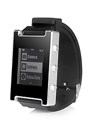 Smartop Bluetooth 4.0 Watch Iphone6 Ios8 (Caller,Notification,Mute,Refusal,Camera Music Control,Sports Management)