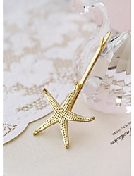 European Style Retro Metal Starfish Beach Wedding Bridal Jewelry Hairpin
