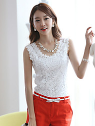 Sexylady New Korean Lace Solid Color Large Yard Vest