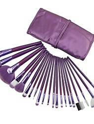 21pcs High Quality Professional Violet Makeup Brush With Free Bag
