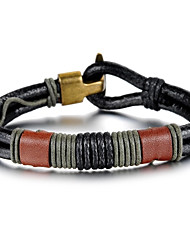 Personality Leather Men's Bracelet