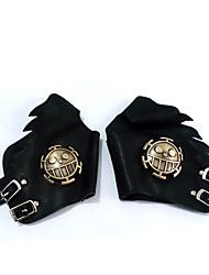 Les Straw Hat Pirates Symbole PU Gants en cuir de Cosplay