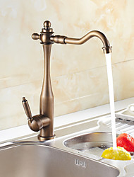 Sprinkle® Kitchen Faucets  ,  Transitional  with  Antique Bronze Single Handle One Hole  ,  Feature  for Centerset