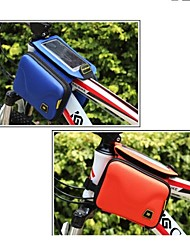 Bike Frame Bag / Cell Phone Bag / Cycle Bag Multifunctional / Phone/Iphone / Touch Screen Cycling/Bike 600D RipstopRed / Gray / Black /