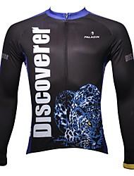 PALADIN Radsport Oberteile Herrn Fahhrad Atmungsaktiv / UV-resistant / Rasche Trocknung Langärmelige 100% Polyester PurpurS / M / L / XL