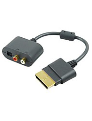 Generic Optical RCA Audio Adapter Convertor Cable Cord for Microsoft Xbox 360 Console Game