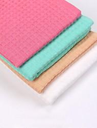 thouse®double teints serviette gaufre à la main 100% cottonl 32cm * 32cm