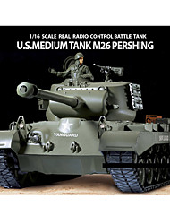 Heng Long 01:16 EE.UU. M26 Pershing pesado remoto tanque de batalla
