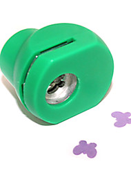 DIY Cutting Tool Mini Metal Four Leaves Clover Pattern Punch(Random Color)
