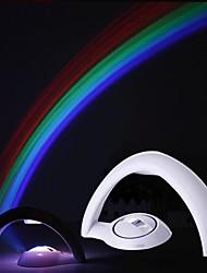 arco-íris levou projeção noturna