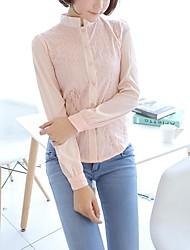iced® mode tout-match chemises pied de col femmes