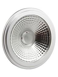 10W GU10 Lâmpadas de Foco de LED AR111 1 COB 1000-1100LM lm Branco Frio Regulável AC 110-130 V